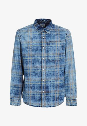Shirt - mehrfarbig, grundton blau