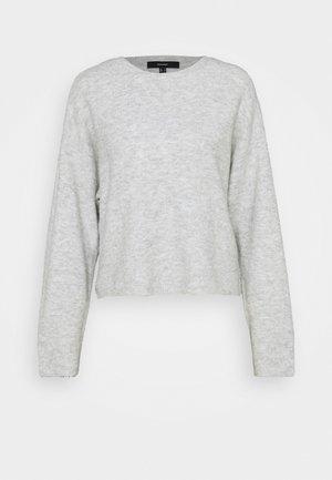 VMPLAZA BOXY - Jumper - light grey melange