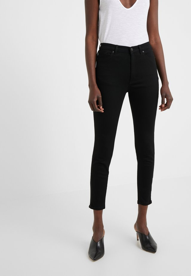 LOU - Jeansy Skinny Fit - black