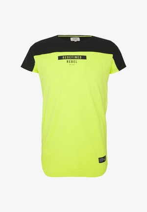SAUL TEE - T-shirt con stampa - acid lime
