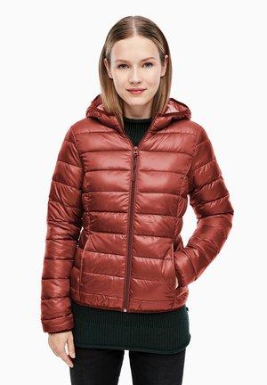 Winterjacke - rust brown
