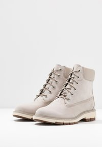 Timberland - LUCIA WAY 6IN WP BOOT - Schnürstiefelette - light taupe - 4