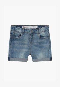 Bench - SHORTLE - Denim shorts - light-blue denim - 3