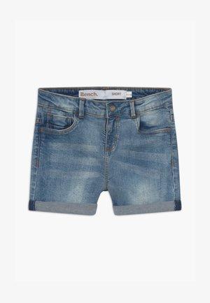 SHORTLE - Shorts vaqueros - light-blue denim