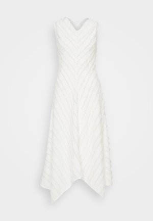 FRINGE FIL COUPE DRESS - Denní šaty - cream