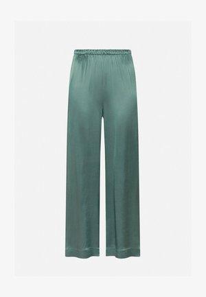 Spodnie materiałowe - evergreen