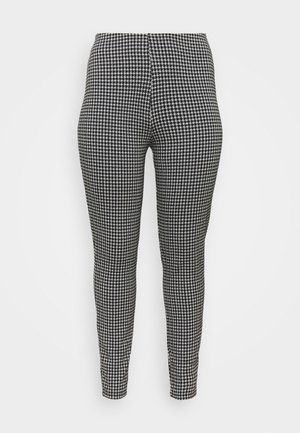 NMHOUND - Leggings - Trousers - black/white