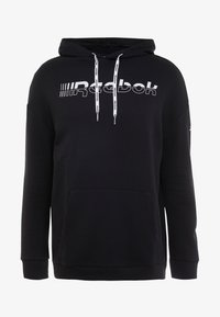 Reebok - HOODIE - Sweat à capuche - black - 3