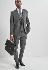 Next - Suit waistcoat - mottled grey - 1