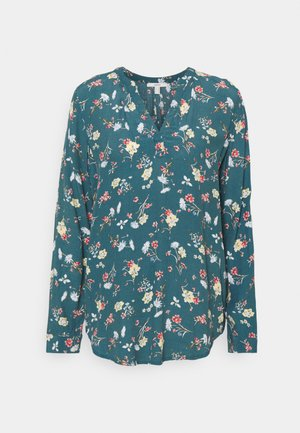 BLOUSES CREPE - Blusa - turquoise
