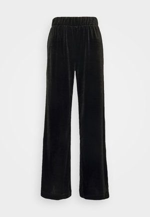 CLEO PARTY TROUSERS - Bukser - black dark