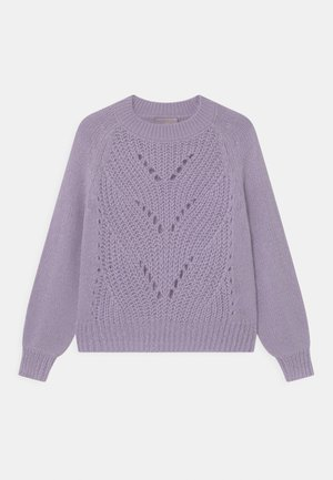BELLA - Strikpullover /Striktrøjer - purple