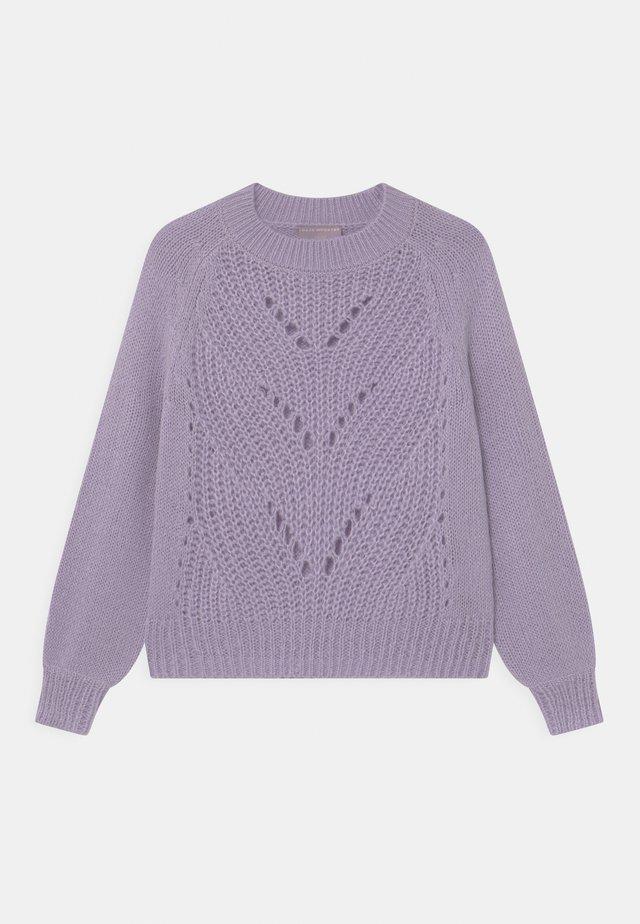 BELLA - Svetr - purple