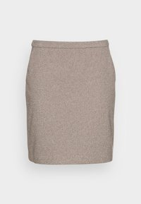 Esprit Collection - SKIRTS WOVEN - Mini skirt - caramel - 3