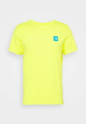 NEVER STOP EXPLORING TEE - T-shirts med print - light green