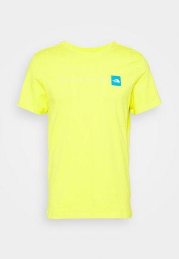 NEVER STOP EXPLORING TEE - T-shirt med print - light green