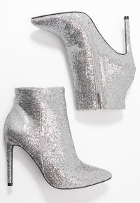 Even&Odd - High heeled ankle boots - silver - 3