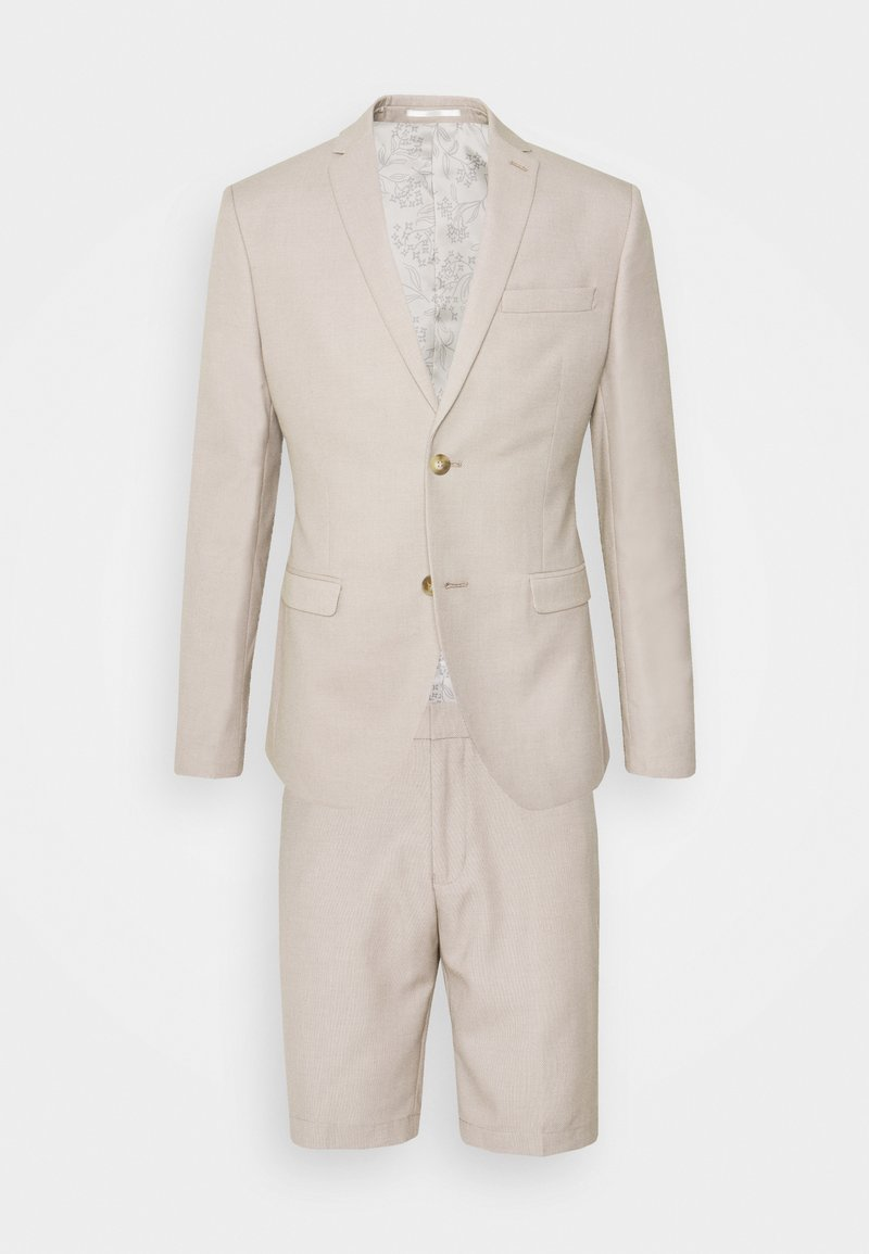 Isaac Dewhirst - THE FASHION SHORT SUIT STRUCTURE - Suit - beige