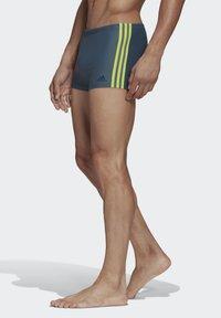 adidas Performance - TRIPES SWIM BOXERS - Uimashortsit - blue - 3