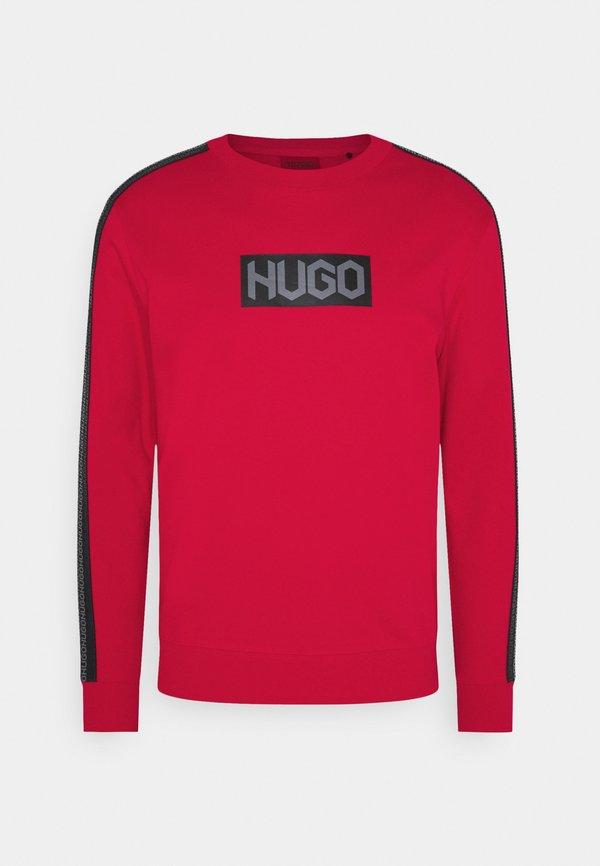 HUGO DUBESHI - Bluza - open pink/czerwony Odzież Męska DUCD