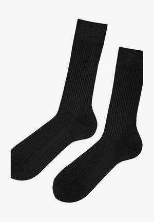 FILO DI SCOZIA - Socks - black