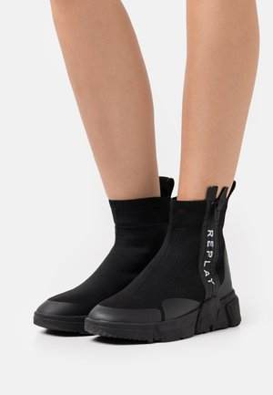 SABLE - Wedge Ankle Boots - black