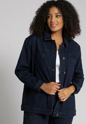 Summer jacket - darkblue denim
