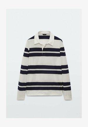 GESTREIFTES  - Polo shirt - dark blue