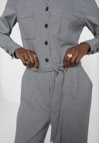 TOM TAILOR - OVERALL CASUAL CHECK - Overal - grey - 6
