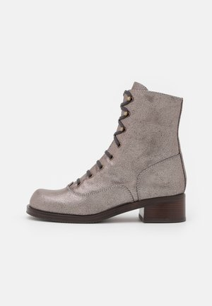 TOMEU - Lace-up ankle boots - plomo