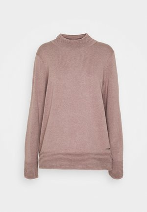 TURTLENECK - Jumper - dark mauve