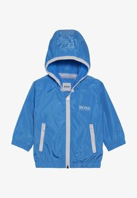 BOSS Kidswear - HOODED WINDBREAKER - Light jacket - vague - 2