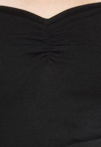 New Look Petite - SWEETHEART NECKLINE JUMPER - Jumper - black - 7
