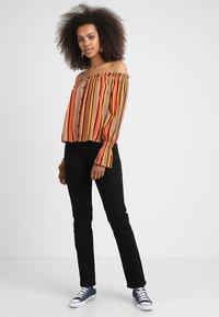 Lee - MARION STRAIGHT - Straight leg jeans - black rinse - 1