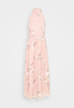 VMLOVELY HALTERNECK LONG DRESS - Maxikjoler - misty rose