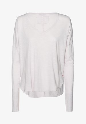 BOXY - Long sleeved top - lilac