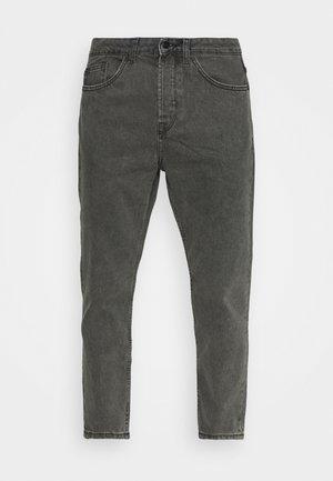 ONSAVI BEAM LIFE CROP - Relaxed fit jeans - black denim