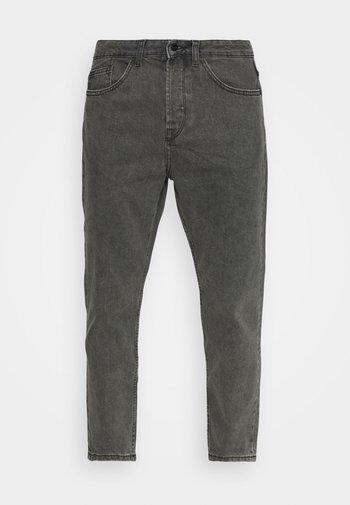 ONSAVI BEAM LIFE CROP - Jeans relaxed fit - black denim