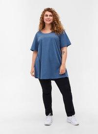 Zizzi - Basic T-shirt - grey - 1