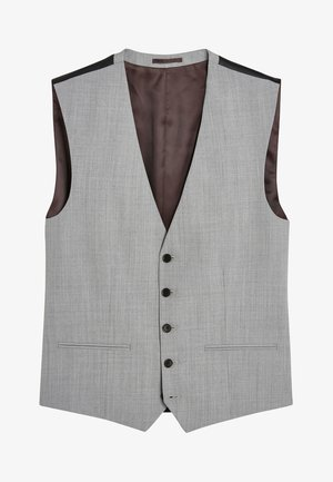 STRETCH TONIC SUIT: WAISTCOAT - Vesta do obleku - light grey