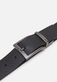 Emporio Armani - TONGUE BELT - Belt - black - 4