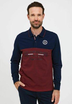 REIDAR - Poloshirt - cabernet