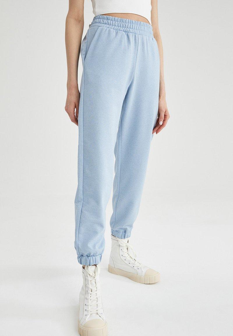 DeFacto - Pantalon de survêtement - blue