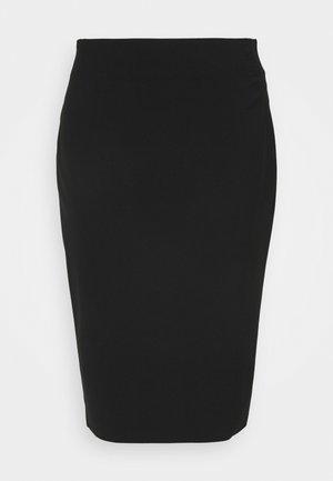PENCIL SKIRT - Pouzdrová sukně - black