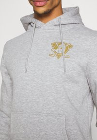 Fanatics - ANAHEIM LOGO GRAPHIC HOODIE - Hoodie - sports grey - 5