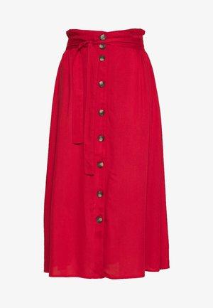 PCELSA SKIRT  - A-line skirt - pompeian red