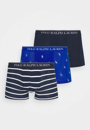 3 PACK - Pants - blue/royal blue