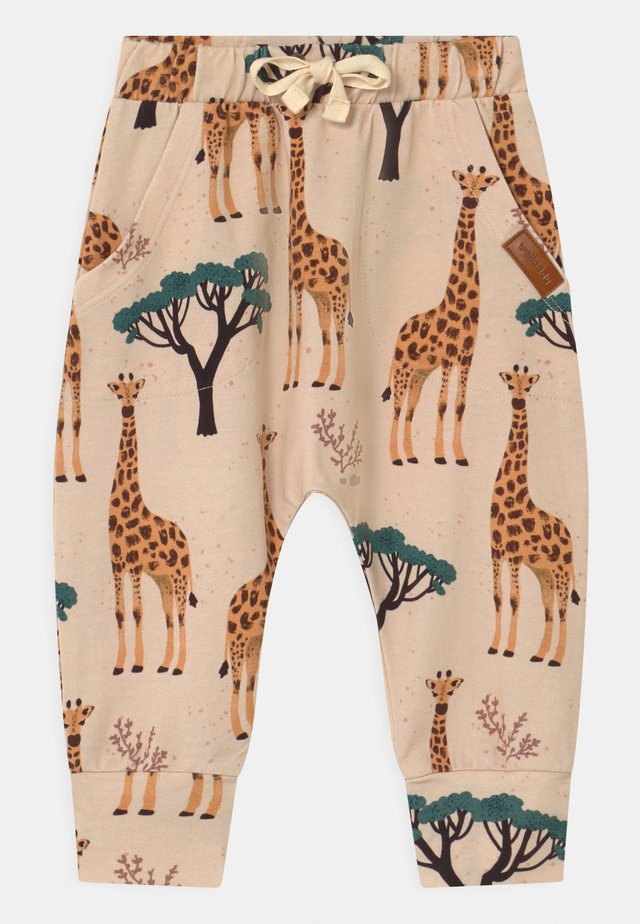 GIRAFFES BAGGY UNISEX - Pantaloni - orange