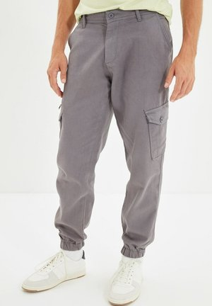 Pantalon cargo - grey