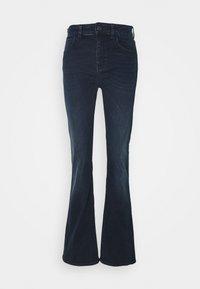 Emporio Armani - 5 POCKETS PANT - Flared Jeans - dark blue denim - 0
